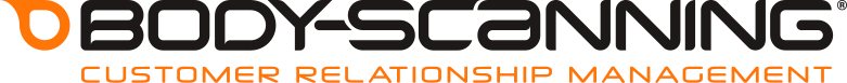Body scanning logo